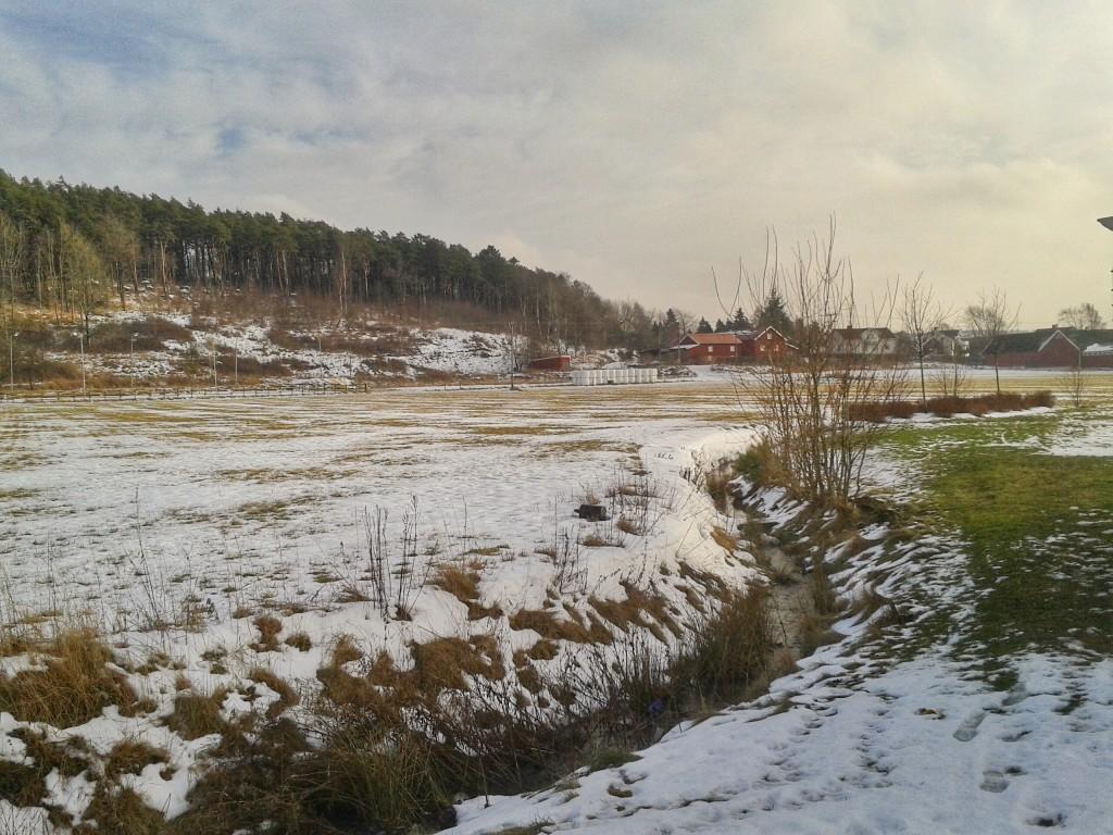 Lilla Fässbergsdalen. Foto Inger Schale 2014-02-02